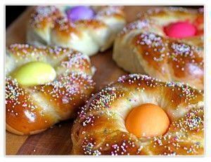Пасхальные булочки - рецепт