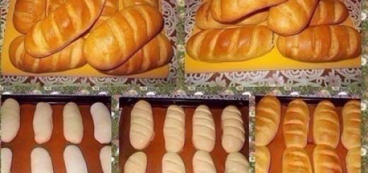 Вкусные домашние батоны — мягкие и воздушные