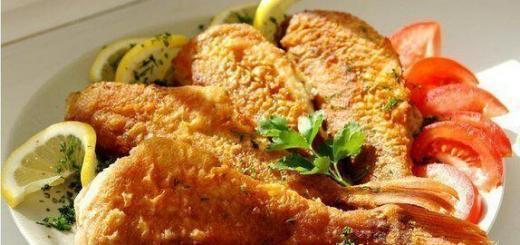 9 рецептов вкусных рыбных блюд