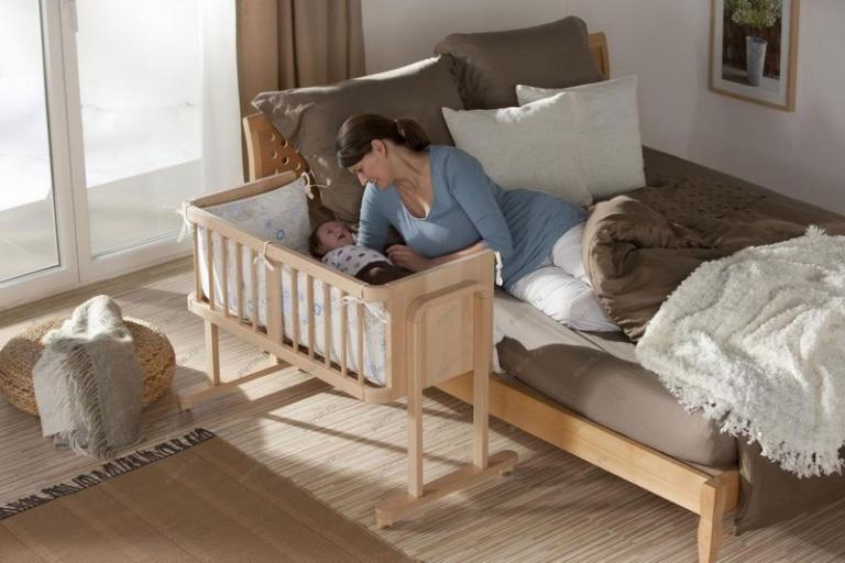 Кровати для новорожденных своими руками