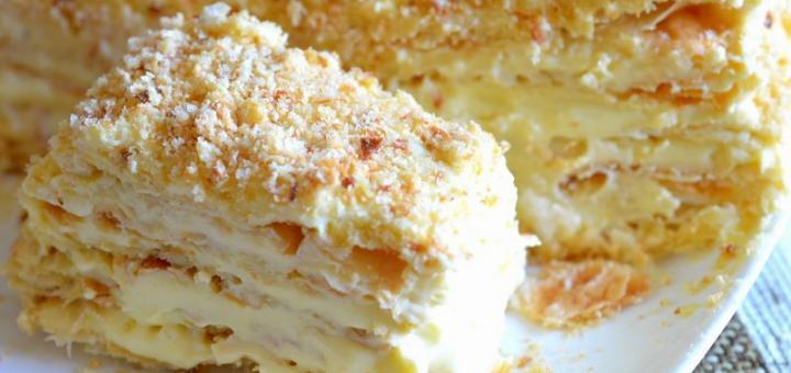 Торт «Наполеон»