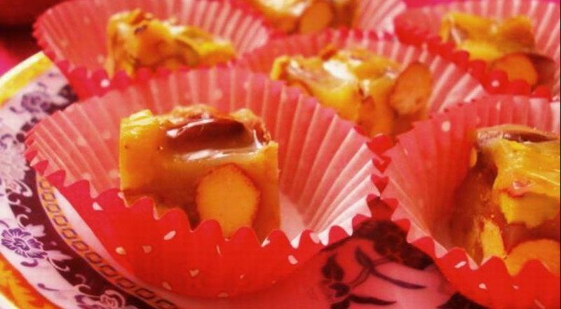 Восточные конфеты с фисташками
