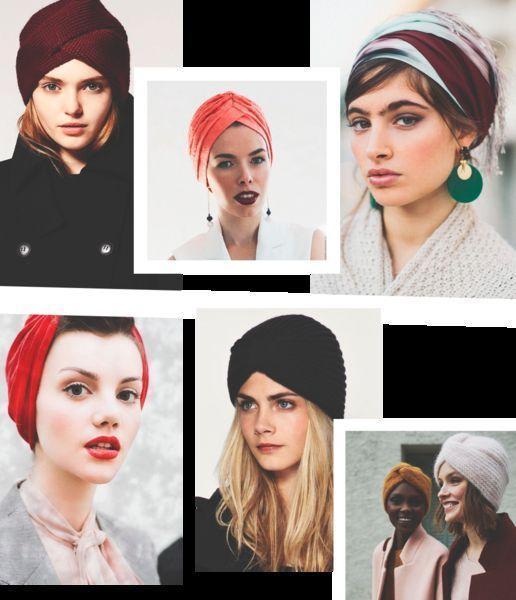 С какой прической носить головные уборы