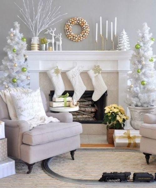 Новогодняя сказка: как украсить комнату к Новому году 2018