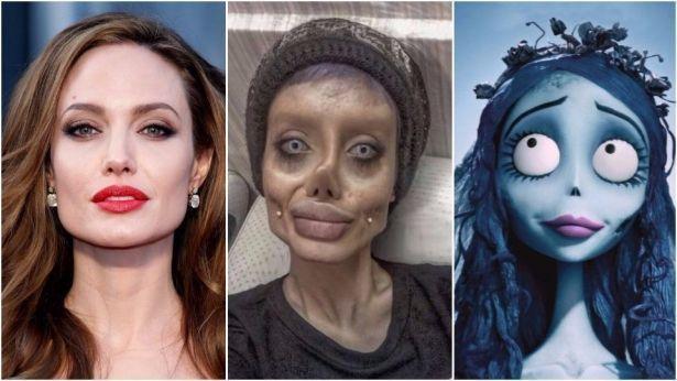 22-летняя девушка сделала 50 пластических операций, чтобы стать похожей на Анджелину Джоли (ФОТО)
