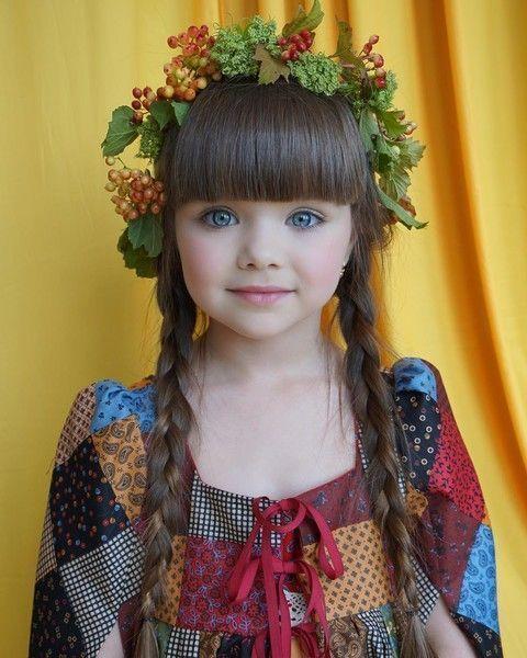 Новой самой красивой девочке в мире 6 лет, и она из России