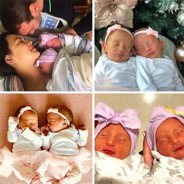 ФОТО дня: Ник Вуйчич поделился трогательным портретом с новорожденными дочерьми