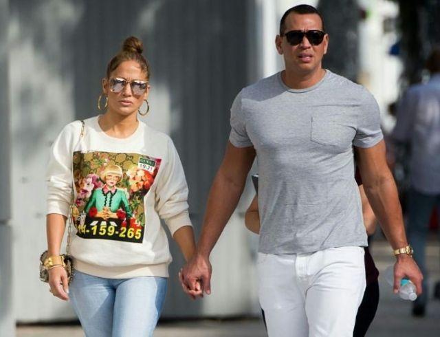 Тренировки по расписанию: Дженнифер Лопес и Алекс Родригес вместе приводят тело в порядок после праздников