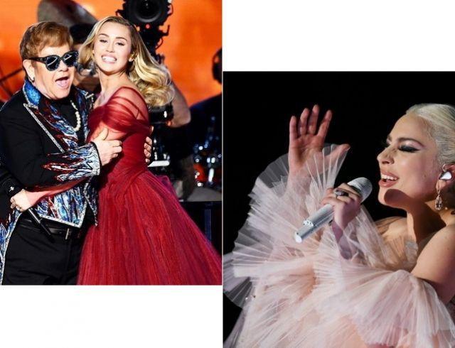 """Два выступления с """"Грэмми-2018"""", которые нужно увидеть каждому: перформанс Леди Гаги и дуэт Элтона Джона с Майли Сайрус"""