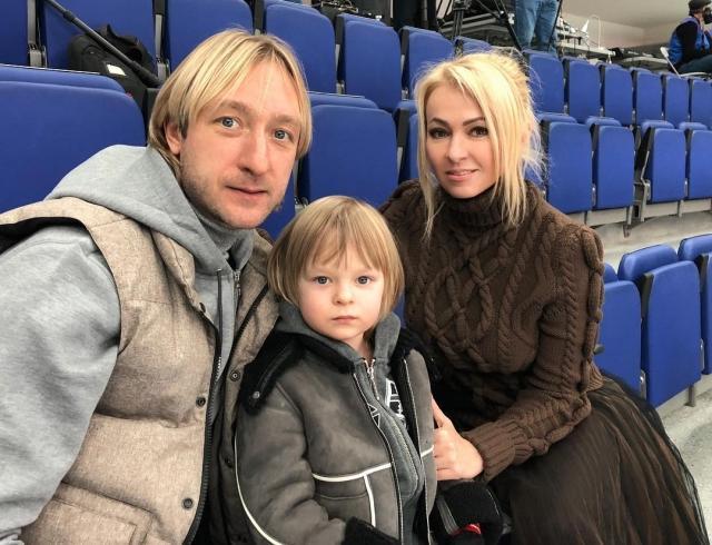 Хейтеры атаковали сына Рудковской и Плющенко
