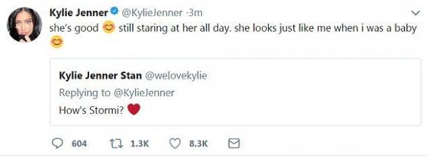 Кайли Дженнер рассказала, на кого больше похожа ее дочь
