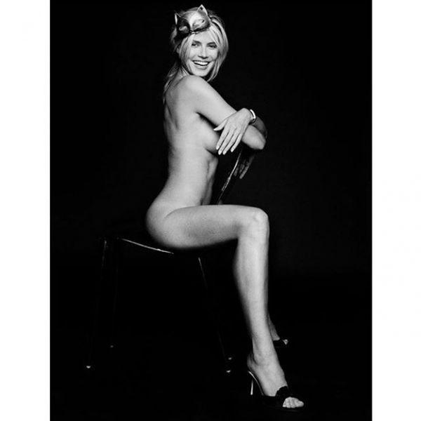 """""""Стыд и срам"""": обнаженная фотосессия Хайди Клум не понравилась ее фанатам"""