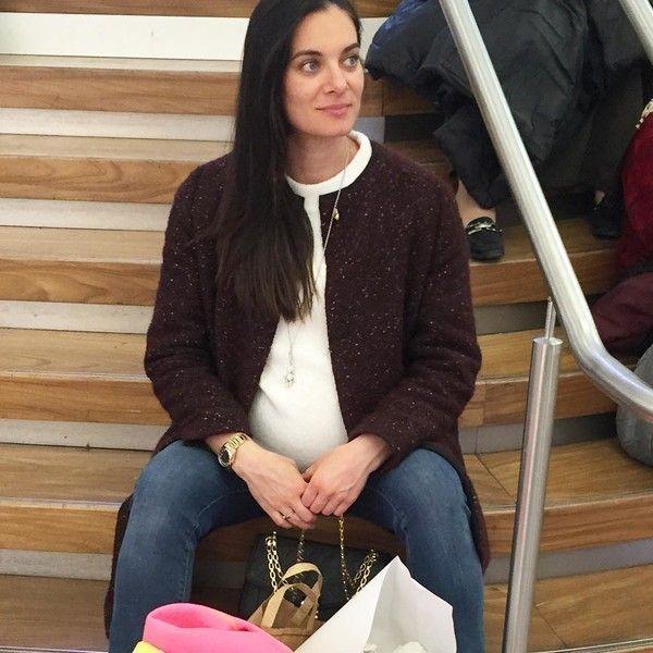 Беременная Елена Исинбаева удивила размерами живота