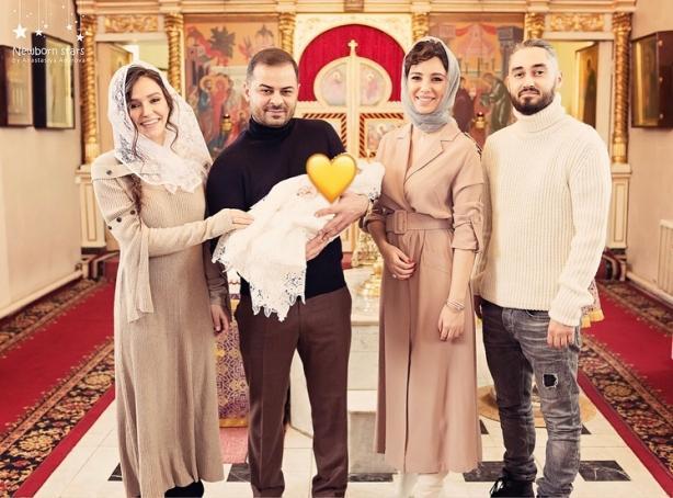 Мот и Мария Мельникова крестили сына Соломона!