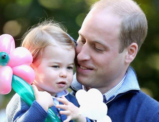 Принц Уильям рассказал об увлечениях принцессы Шарлотты