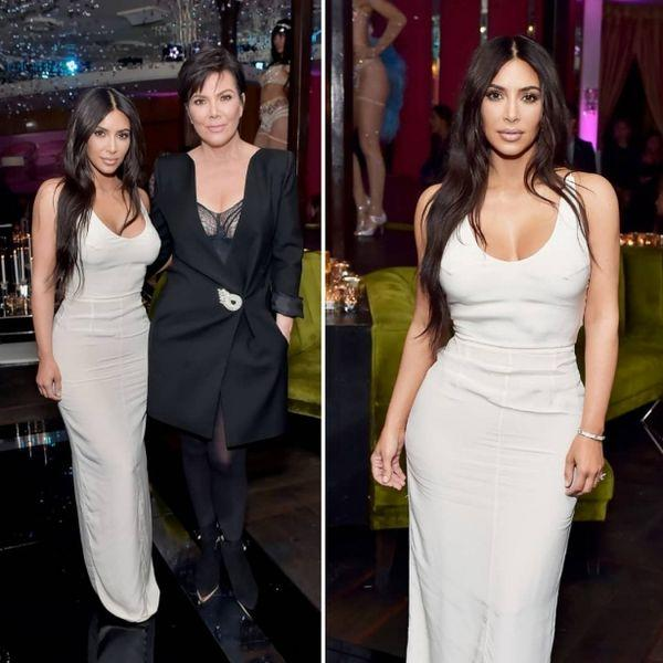 Ким Кардашьян восхитила нежным и сдержанным бьюти-образом на ланче Lorraine Schwartz (ФОТО)