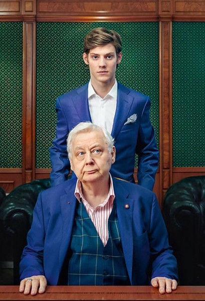 Павел Табаков показал последнее фото с отцом