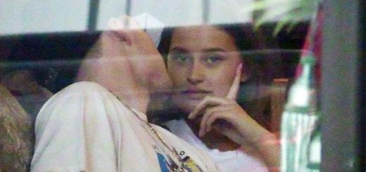 Сына Виктории Бекхэм застукали за поцелуями с моделью Playboy (фото)