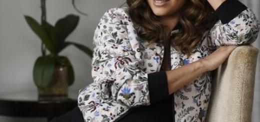 Беременная Ева Лонгория в обтягивающем платье и на каблуках посетила шоу Джимми Киммела (ФОТО)