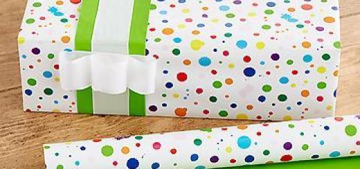Для чего нужна упаковочная бумага?