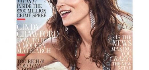 Почему Синди Кроуфорд стыдится своих откровенных фотосессий