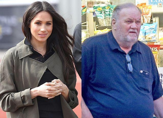 Меган Маркл попросила отца отвести ее к алтарю, несмотря на скандал с фотографиями