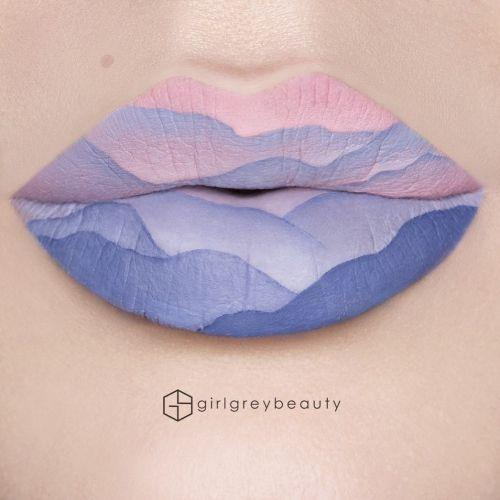 Тренды Instagram: макияж губ как произведение искусства
