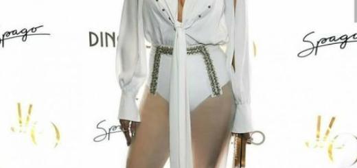 Дженнифер Лопес в полупрозрачном комбинезоне на вечеринке в Лас-Вегасе (ГОЛОСОВАНИЕ)