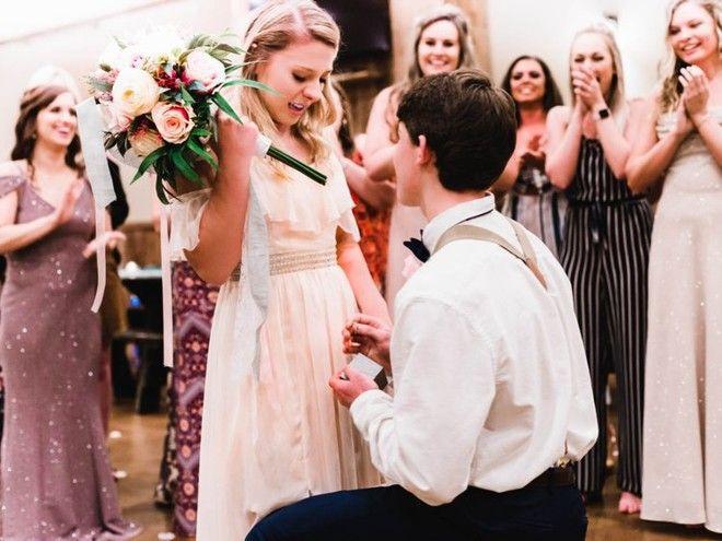 Брат невесты шокировал всех гостей на свадьбе