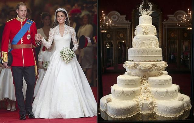 Стало известно, каким будет торт на свадьбе принца Гарри и Меган Маркл
