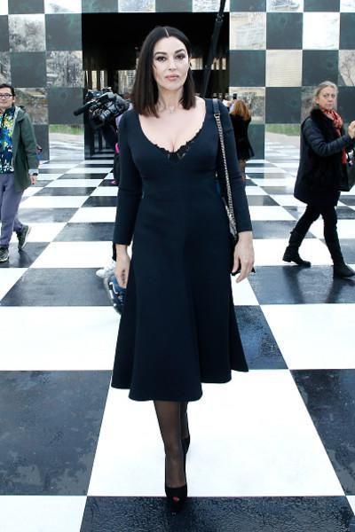 53-летняя Моника Белуччи на мужском показе стала моделью