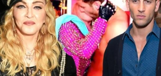 Мадонна выходит замуж за 32-летнего манекенщика