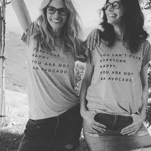 Не устояла: Джулия Робертс зарегистрировалась в Instagram и удивила первыми фото