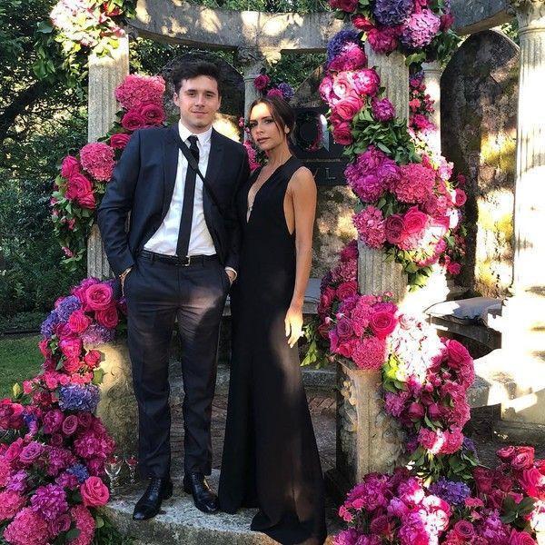Виктория Бекхэм выглядит подружкой своего сына