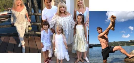 Максим Галкин, Алла Пугачева, Кристина Орбакайте с детьми отдыхают в Греции: семейные выходы в свет и соблазнительные танцы