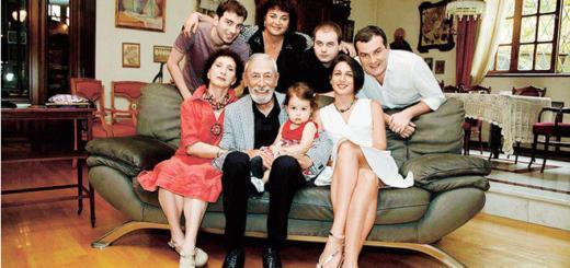 Вахтанг Кикабидзе: «Женщина должна быть умной и воспитанной»