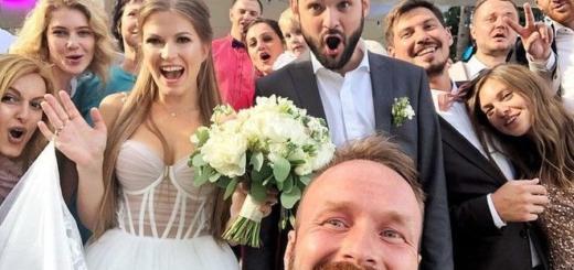 «Прощайте»: звезда Comedy club выложил свое свадебное фото