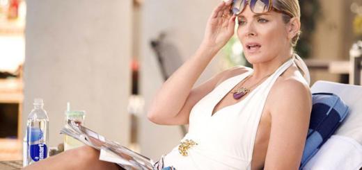 Саманта уже не та: Ким Кэтролл стесняется своих ног