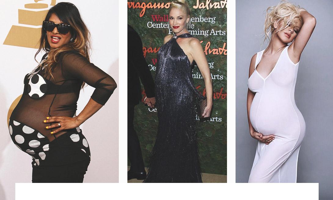 Как селебрити сделали беременность модной