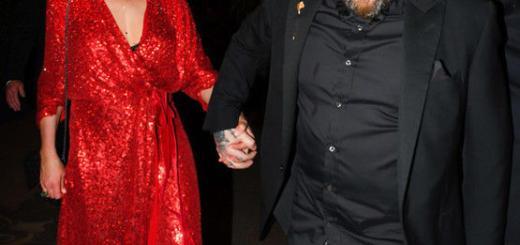 Брутальный муж Камерон Диас мило поздравил ее с днем рождения