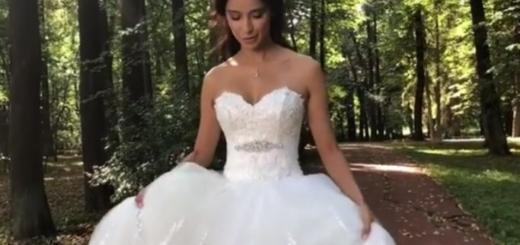 Снова замуж? Равшана Куркова примерила свадебное платье