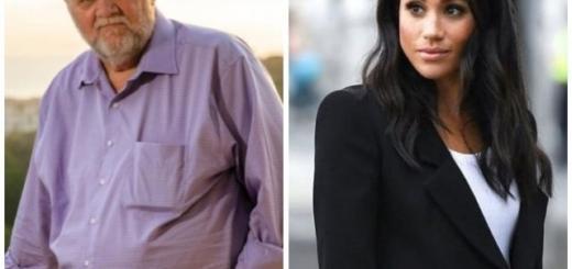 Fashion — из май профэшн: отец Меган Маркл выпустит коллекцию мужской одежды