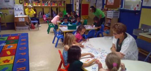 Что дети делают в развивающих центрах?