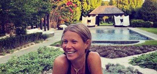 Приятель 45-летней Гвинет Пэлтроу показал ее без макияжа