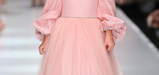 Юные принцессы: дети звезд на Неделе моды в Москве