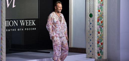 Платье от «Глухаря»: Максим Аверин стал модельером