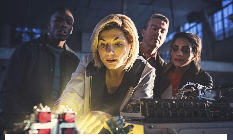 Свалилась с неба: вышла первая серия нового сезона «Доктора Кто»