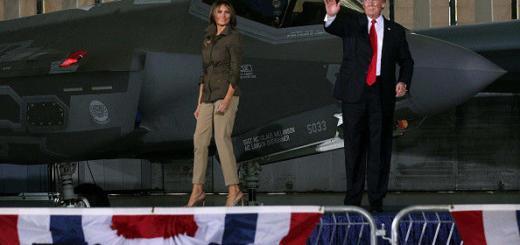 Экономная Мелания Трамп носит старую одежду