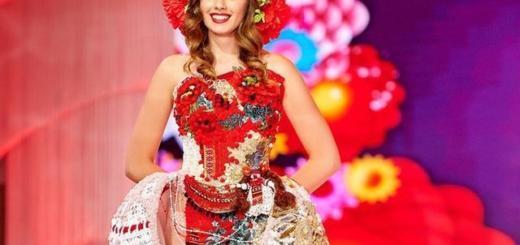 Украинка Елена Фирут стала обладательницей титула Miss Planet-2018