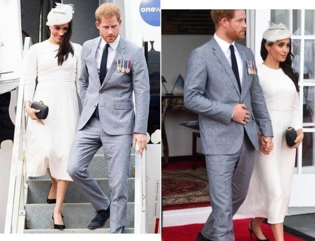 Меган Маркл и принц Гарри прилетели на Фиджи (ФОТО+ВИДЕО)
